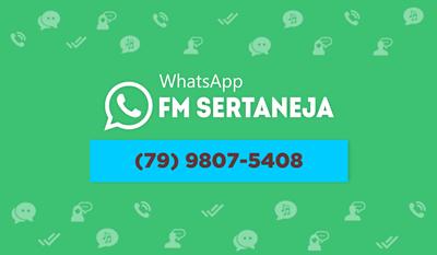 WhatsApp da FM Sertaneja